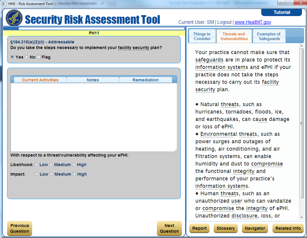 Quick review of hhss new hipaa security risk assessment tool onchhs issued maxwellsz