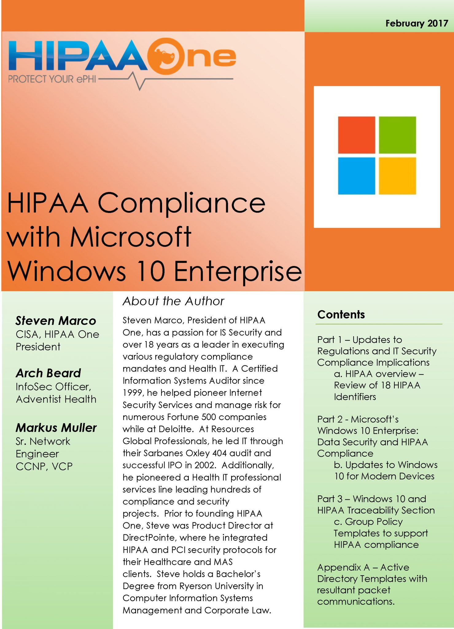 Debunking The Myth Is Windows 10 HIPAA Pliant HIPAA E