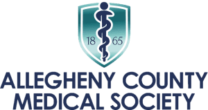 Allegheny county medical society logo